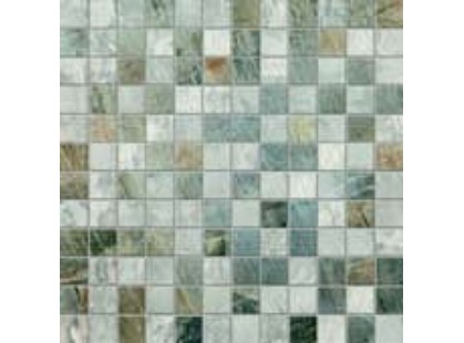 Abk Fossil stone Mosaico Mini Mix Light Grey/Blue