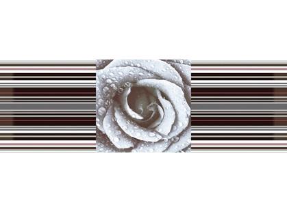 Absolut Keramika Aure Rose Composicion Savage Flowers Marron 01