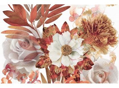 Absolut Keramika Aure Savage Composicion Savage Flowers Marron 01