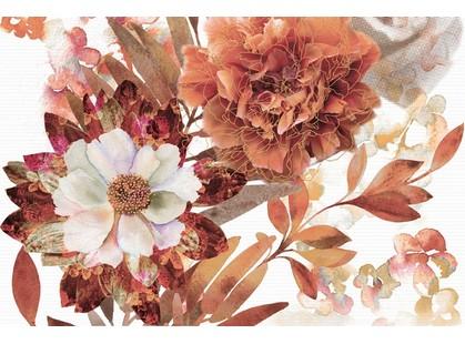 Absolut Keramika Aure Savage Composicion Savage Flowers Marron 02