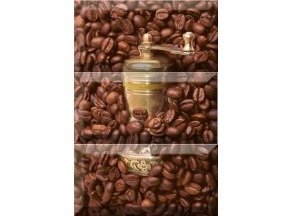 Absolut Keramika Coffee 10x20 Coffee Beans Composicion 1 (из 3-х плиток)
