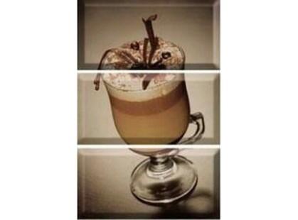 Absolut Keramika Coffee 10x30 Coffee Capuccino Composicion