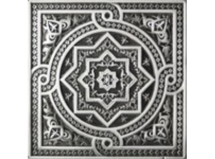 Absolut Keramika Metalic Plox Satined Black Silver 1386 Beni-Mamet