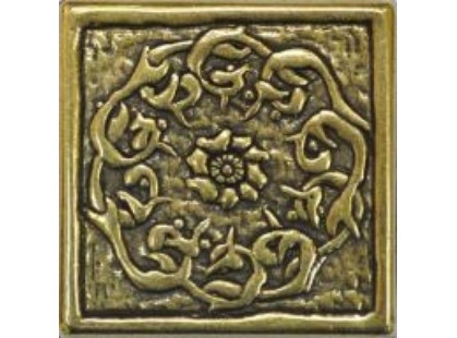 Absolut Keramika Moneli Decor Flor Shined Brass