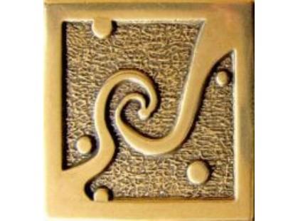 Absolut Keramika Moneli Decor Ola Shined Brass