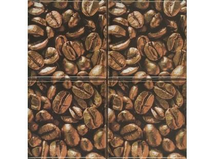 Absolut Keramika Monocolor 100х100 Biselado Set Coffee Beans 03 (4pzs)