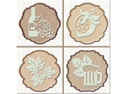 Absolut Keramika Monocolor 100х100 Milano Set Autumn Fosker (4pzs)