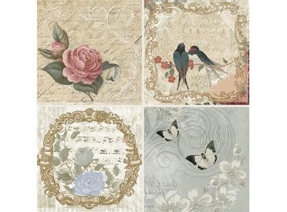 Absolut Keramika Monocolor 100х100 Milano Set Mei A (4pzs)
