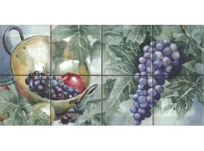 Absolut Keramika Monocolor 100х100 Milano Composicion Acuarela Uvas