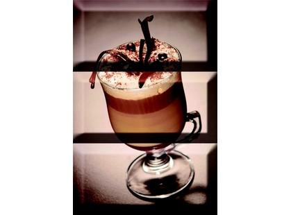 Absolut Keramika Monocolor 100х200 Biselado Composicion Coffee Capuccino Marron