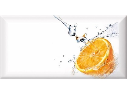Absolut Keramika Monocolor 100х200 Biselado Decor Fresh Orange