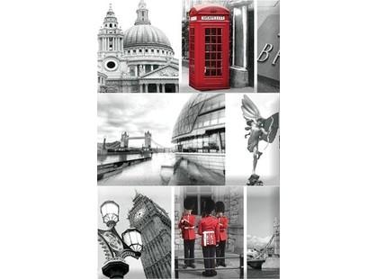 Absolut Keramika Monocolor 7.5х15 Biselado Composicion London Calling A