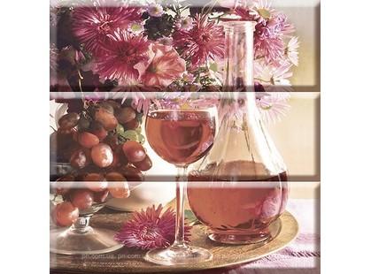 Absolut Keramika Monocolor Composicion Wine 03