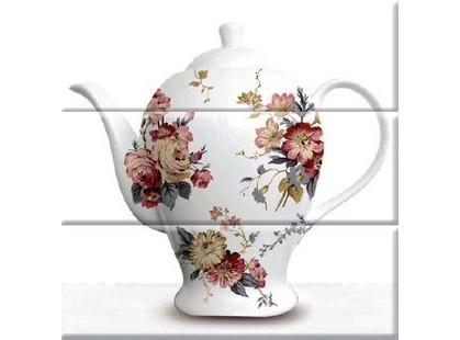 Absolut Keramika Tea 3 White Composicion (3 плитки)