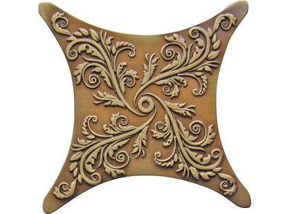 Absolut Keramika Vecchio,Barelli,Striato Estrella E1 Bronce Cuero / Brown Brass