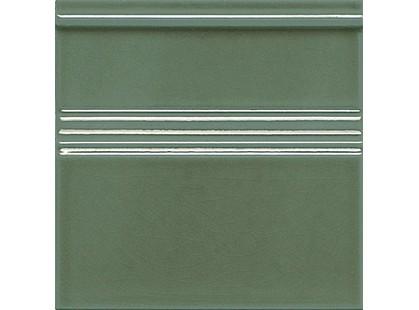 Adex Modernista Rodapie Clasico C/C Verde Oscuro