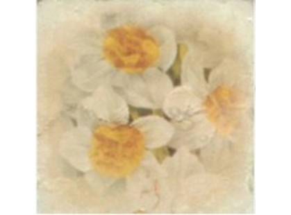 A.L.CO Ceramiche Marmi italiani Inserto Botticino Fiore 1A  x  A B C