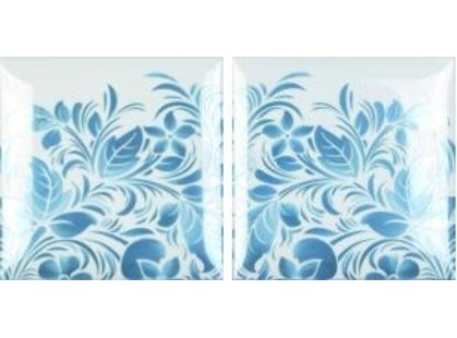 Amadis Fine Tiles Coffee Flowers 1,2 Deco (Set1)