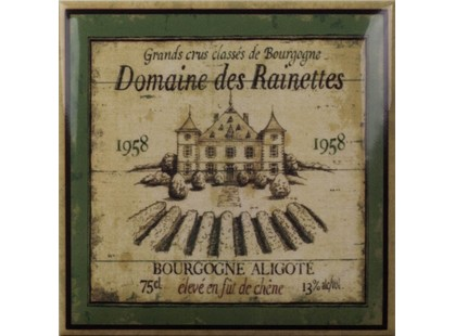 Amadis Fine Tiles Wine Label Decors 1