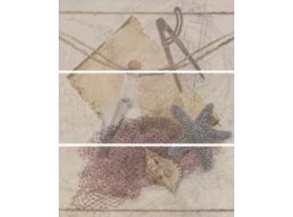 Ape ceramica Concorde Beach Perla Set из 3 плиток