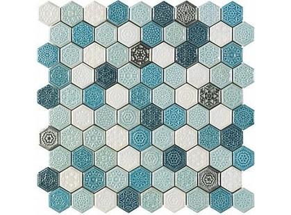 Ape ceramica Mosaics Elisabeth Turquesa