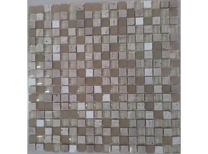 Aquarelle Мозаика стекло/камень 8мм VP003