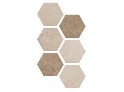 Argenta Hexagon Multi  Warm