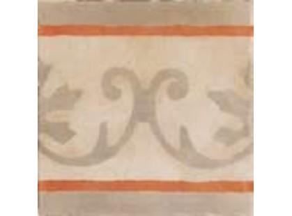 Arkadia (Eco ceramica) Cementi Novecento Matt Rosso Fascia 10