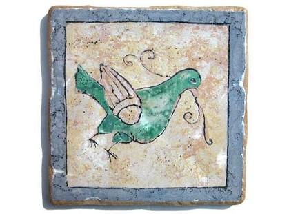 Arkadia (Eco ceramica) Maestri Ceramisti Naturale Colomba