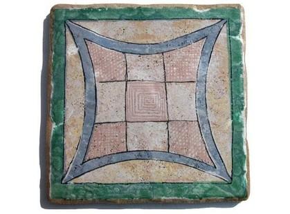 Arkadia (Eco ceramica) Maestri Ceramisti Naturale Quadra