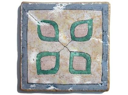 Arkadia (Eco ceramica) Maestri Ceramisti Naturale Quadrifoglio
