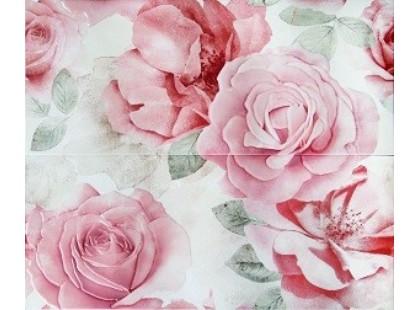 Articer Floreale onyx Rosone Flor.Beige 2PZ