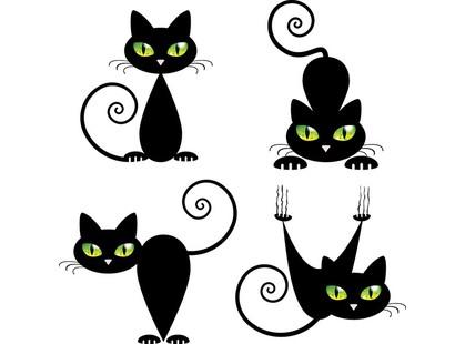 Артвалентто Black cat Black cat 2 Декор 10х10