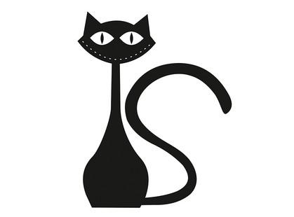 Артвалентто Black cat Black cat 1 Декор 10х10