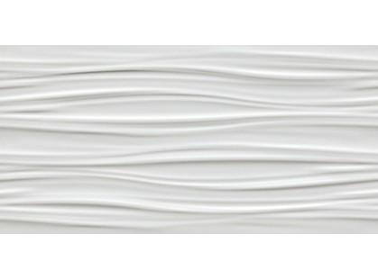 Atlas Concorde 3D Wall 3D Ribbon White Matt.