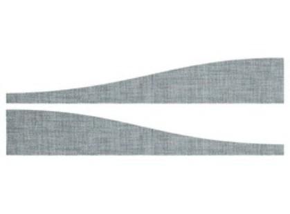 Atlas Concorde Fibra Grey Listone Wave Mix 2