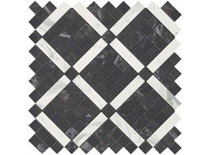 Atlas Concorde Marvel Pro Noir Mix Diagonal Mosaic