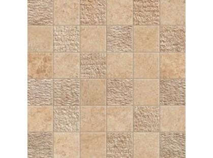 Atlas Concorde Sunrock Bourgogne Sand Mosaico Mix