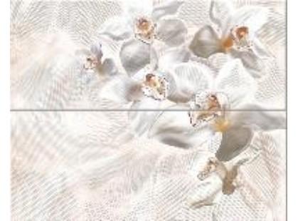 "Azori Agat Beige Беж  ""Орхидея""  (комплект из 2-х пл.)"