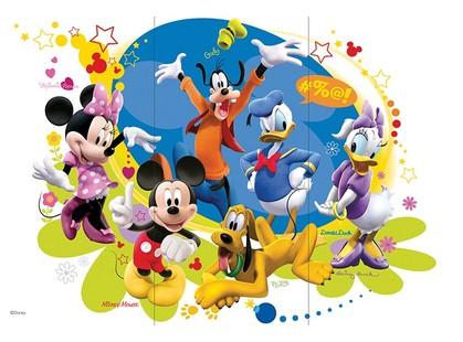 Azteca Disney R3060 Mickeys Friends 3A-V R3060