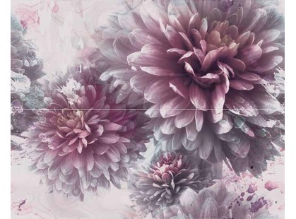 Azulejos alcor Lugano Decor Floral 2pz Lila