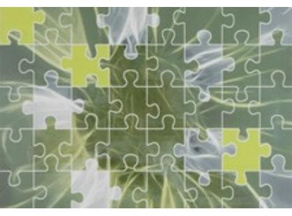 Azulejos alcor Lyon Dec. Puzzle Verde
