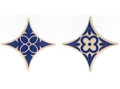 Azulejos Borja Pirita Taco Estrella Azul