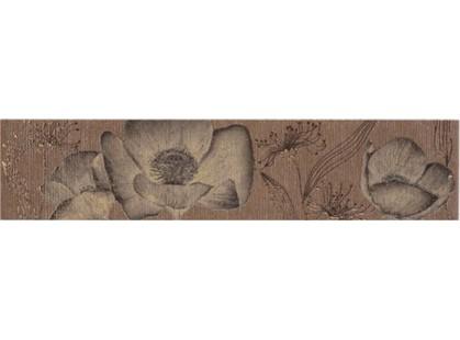 Azulindus & marti s.a Siena Cenefa Siena Floral Chocolate