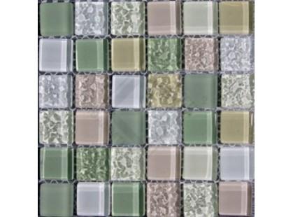 Bars Crystal Смеси цветов 23х23х8 мм Ht 524