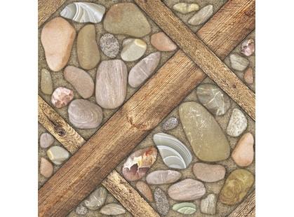 Belani Аризона Аризона Керамогранит коричневый 41,8х41,8