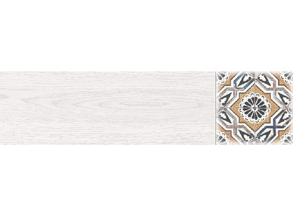 Belani Дуб Дуб Декор 2 белый 60х15,1