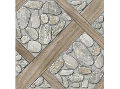 Березакерамика Глазурированый керамогранит Аризона Серый