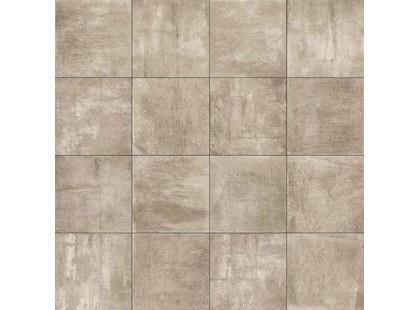 Brennero Fluid Mosaico Concrete Taupe Lapp (2,3х2,3) (Р)