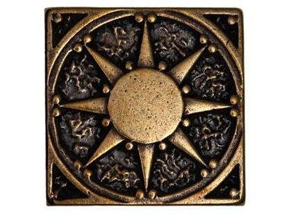 Бронзодекор Латунные вставки Солнце